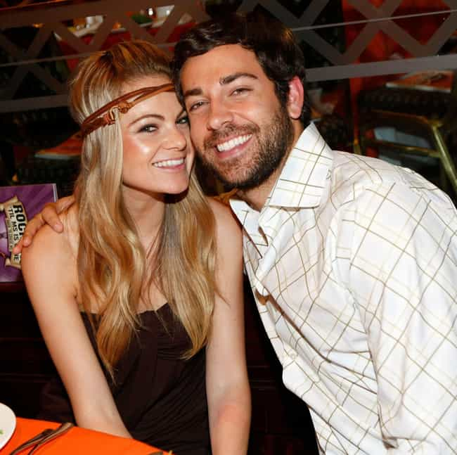 Caitlin Crosby is listed (or ranked) 2 on the list Zachary Levi Loves and Hookups