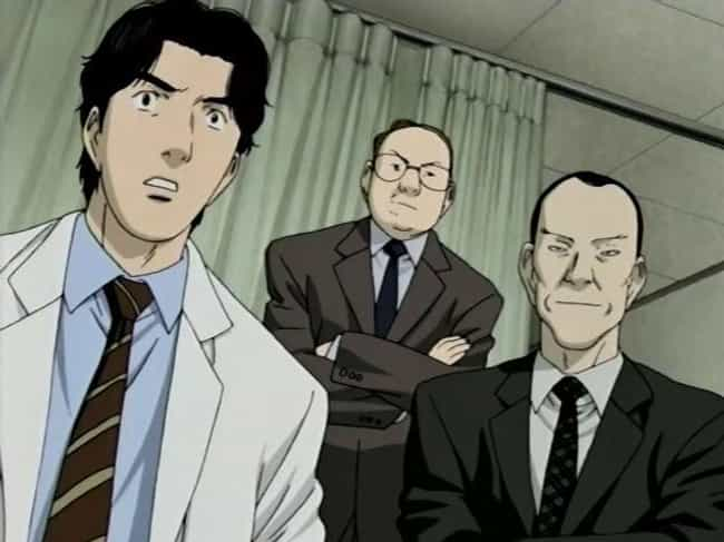 Monster is listed (or ranked) 4 on the list 14 Brilliant Anime Intended For Intelligent Viewers