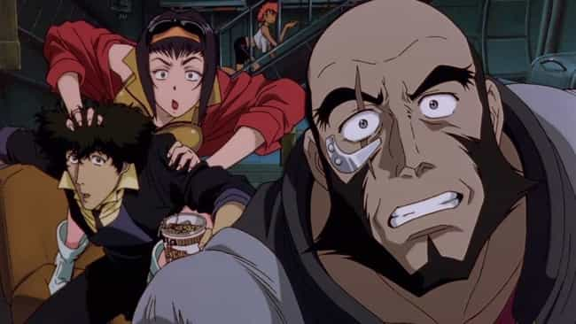 Cowboy Bebop is listed (or ranked) 1 on the list 14 Exciting Action Anime Where Characters Don't Have Special Powers
