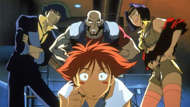 Cowboy Bebop is listed (or ranked) 2 on the list 20 Old School Anime That Still Hold Up Today