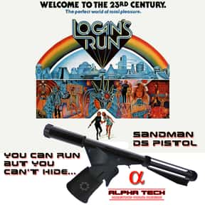 Logan's Run is listed (or ranked) 19 on the list The Greatest Dystopian Novels