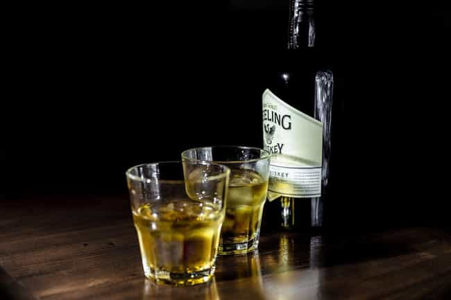 Whisky is listed (or ranked) 2 on the list Types of Alcohol That Give You the Best Buzz
