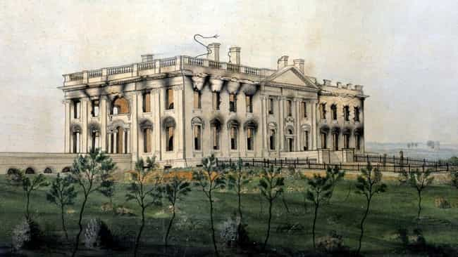 White House is listed (or ranked) 3 on the list How Famous Monuments Got Ruined