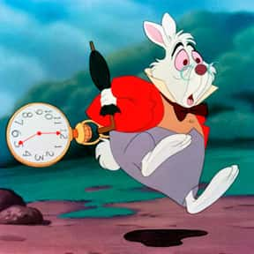 White Rabbit is listed (or ranked) 7 on the list The Greatest Rabbit Characters of All Time