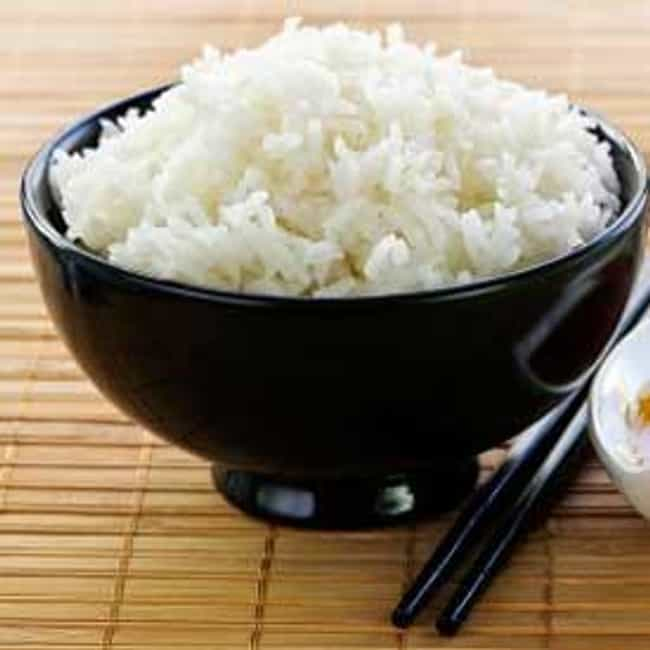 White rice is listed (or ranked) 4 on the list The Best Foods for IBS