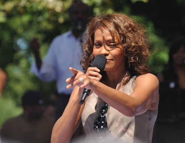 Whitney Houston is listed (or ranked) 2 on the list 28 Celebrities Who Sang in the Church Choir