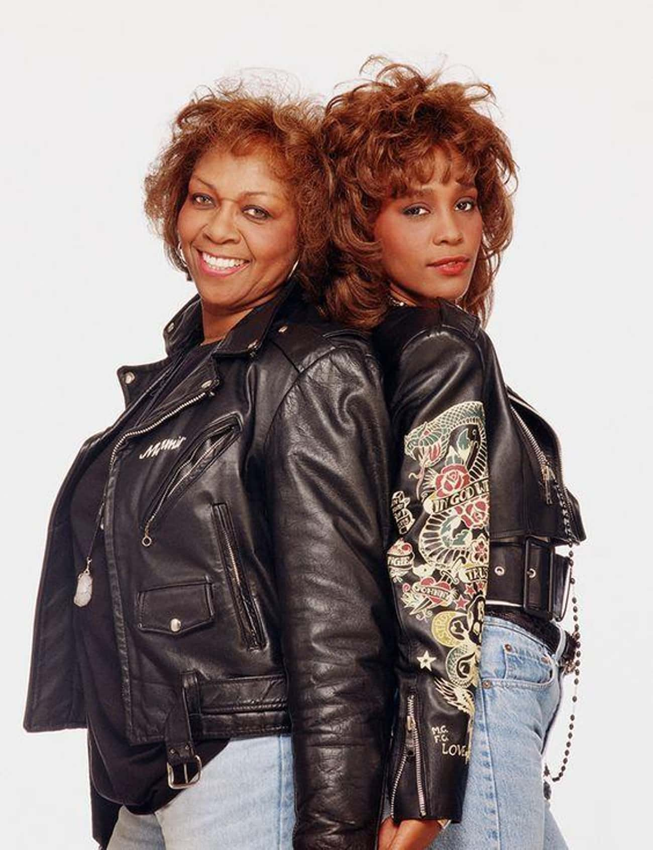 Whitney Houston and Her Mother is listed (or ranked) 1 on the list Famous People Who Are More Successful Than Their Parents