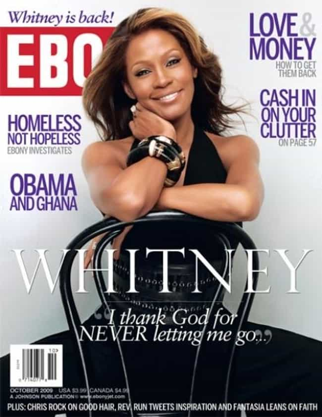 Whitney Houston is listed (or ranked) 2 on the list The Best Ebony Covers
