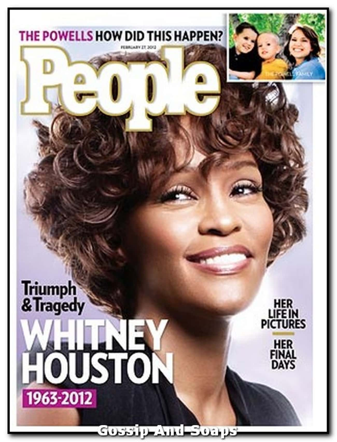 Whitney Houston is listed (or ranked) 4 on the list The Best People Magazine Covers