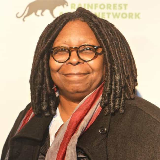 Whoopi Goldberg is listed (or ranked) 3 on the list Famous Teenage Mothers
