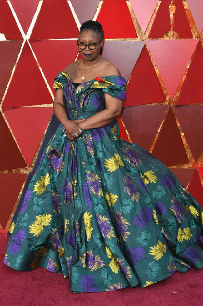 Whoopi Goldberg is listed (or ranked) 7 on the list Worst Dressed At The 2018 Academy Awards