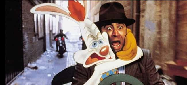 Who Framed Roger Rabbit is listed (or ranked) 5 on the list Super Popular Movies That Were Unfaithful Adaptations