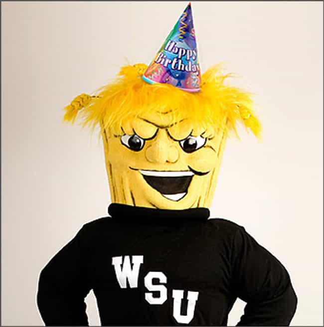 Wichita State University is listed (or ranked) 4 on the list The Creepiest Sports Mascots