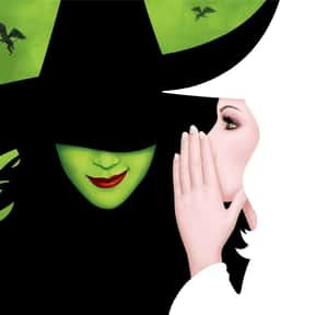 Wicked is listed (or ranked) 3 on the list The Best Broadway Shows Right Now