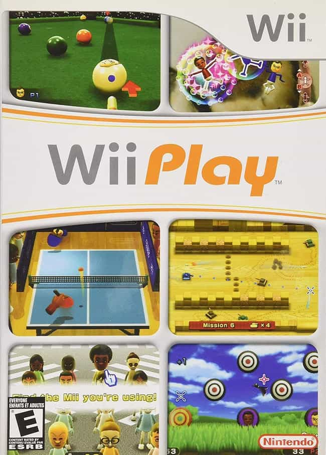 Wii Play is listed (or ranked) 4 on the list The Easiest Video Games To Complete