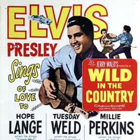 Wild in the Country is listed (or ranked) 20 on the list The Best Elvis Presley Movies