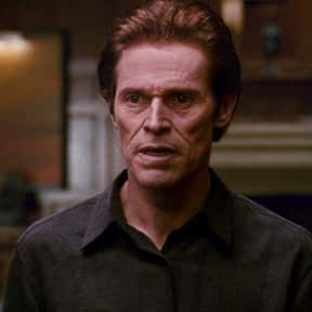 Willem Dafoe is listed (or ranked) 18 on the list The Greatest Film Actors Of The 2010s