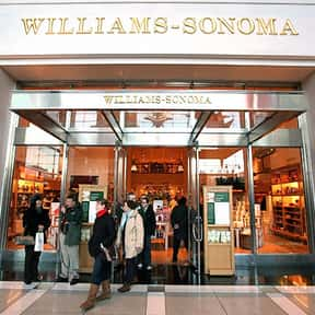 Williams-Sonoma is listed (or ranked) 24 on the list The Best Fine China Brands