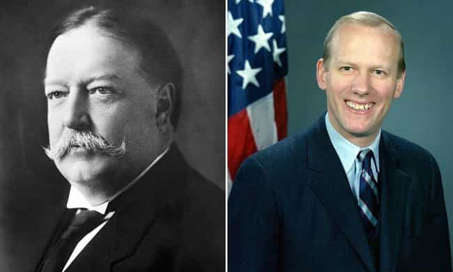 William Howard Taft is listed (or ranked) 7 on the list Modern Descendants Of Historical Figures Who Work In The Same Field