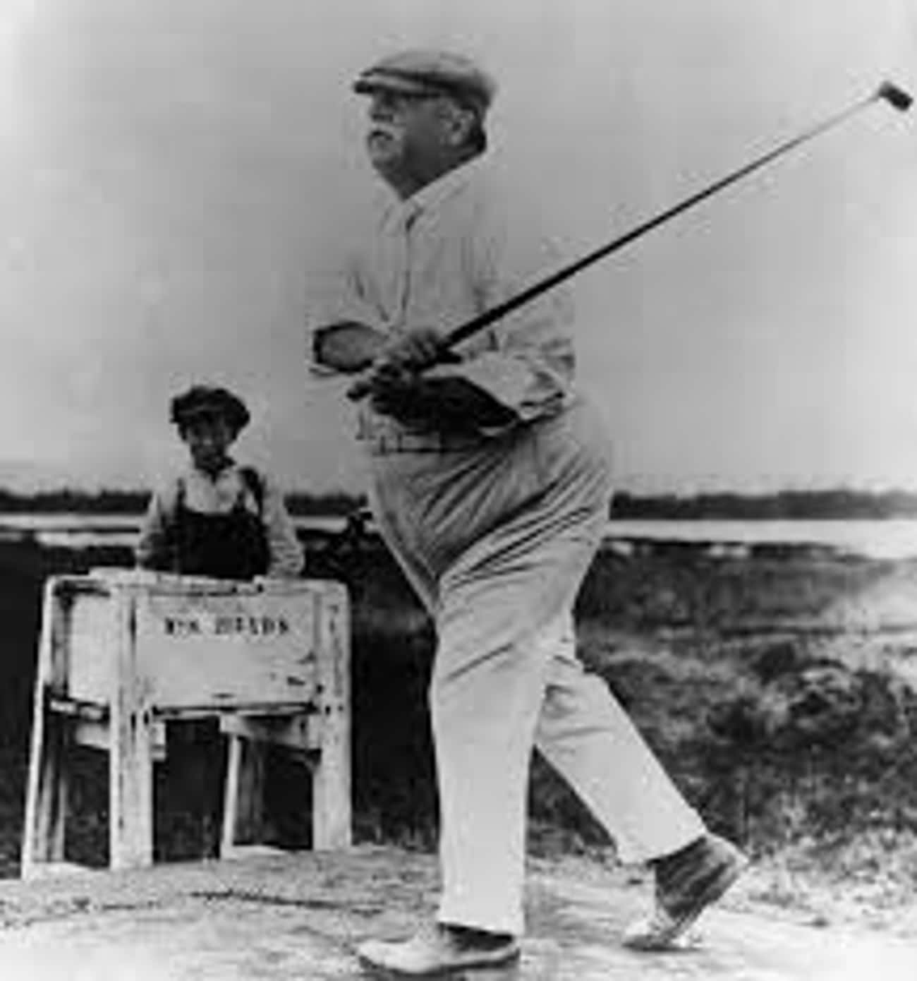 William Howard Taft is listed (or ranked) 1 on the list All the Golfing Presidents