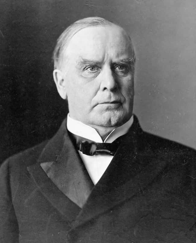 William McKinley is listed (or ranked) 24 on the list Every U.S. President & Every Medical Problem They've Ever Had