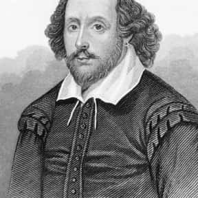 William Shakespeare is listed (or ranked) 11 on the list Famous People Named William and Bill
