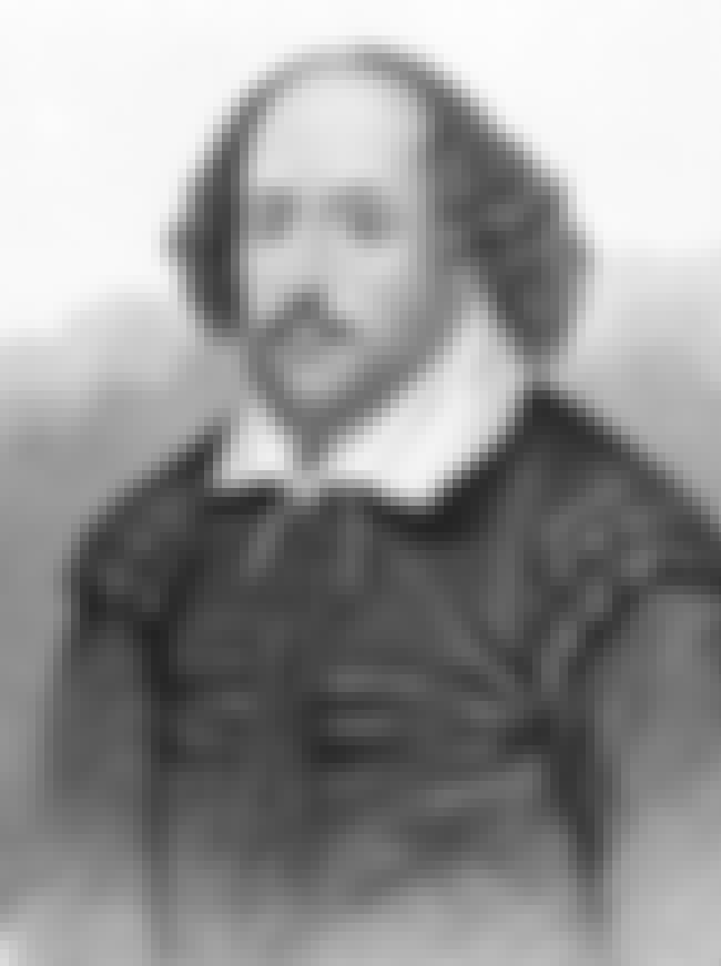 William Shakespeare is listed (or ranked) 1 on the list List of Famous Dramatists