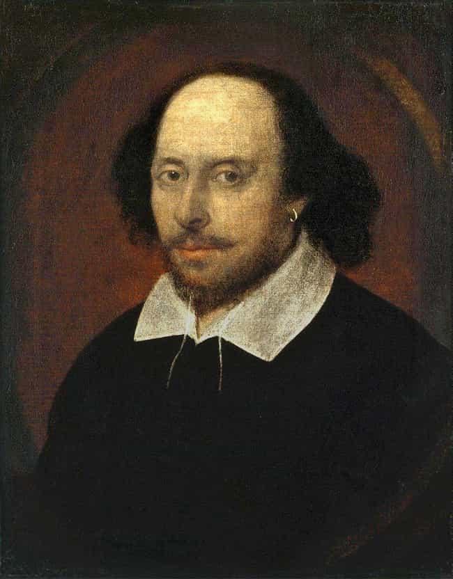 William Shakespeare is listed (or ranked) 1 on the list 13 Ways Important Historical Figures Used Marijuana