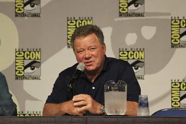 William Shatner is listed (or ranked) 4 on the list Celebrities Afraid of Flying