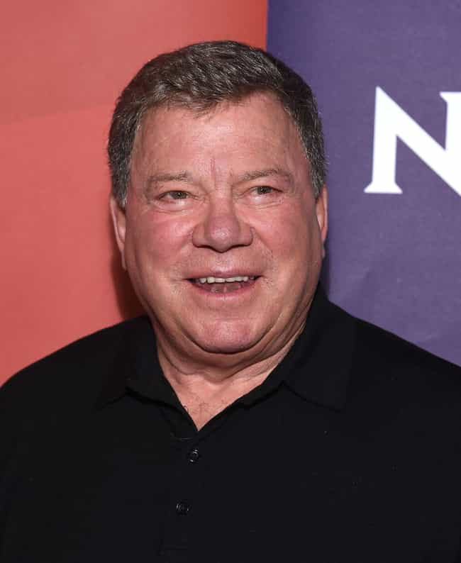William Shatner is listed (or ranked) 4 on the list 22 Celebrities You Have Probably Seen On Reddit