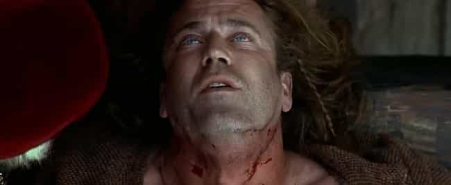 William Wallace is listed (or ranked) 1 on the list Execution Scenes From Movies And TV That Were Way Less Violent Than The Real Thing
