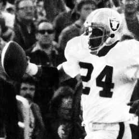 Willie Brown is listed (or ranked) 7 on the list The Best Oakland Raiders Of All Time