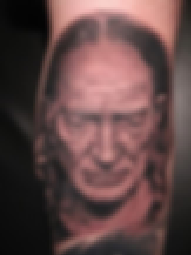 Willie Nelson is listed (or ranked) 1 on the list 30+ of the Worst Tattoos of Celebrity Faces