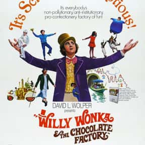 Willy Wonka & the Chocolate Fa is listed (or ranked) 25 on the list The Best Movies for Families