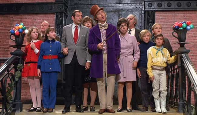 Willy Wonka & the Ch... is listed (or ranked) 3 on the list Kids From Classic Movies And TV Shows Who Will Be Forever Scarred By Their Adventures