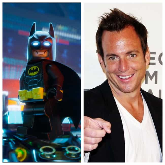 Will Arnett is listed (or ranked) 3 on the list Here's Where You've Heard Or Seen Everyone In 'The Lego Movie 2' Before