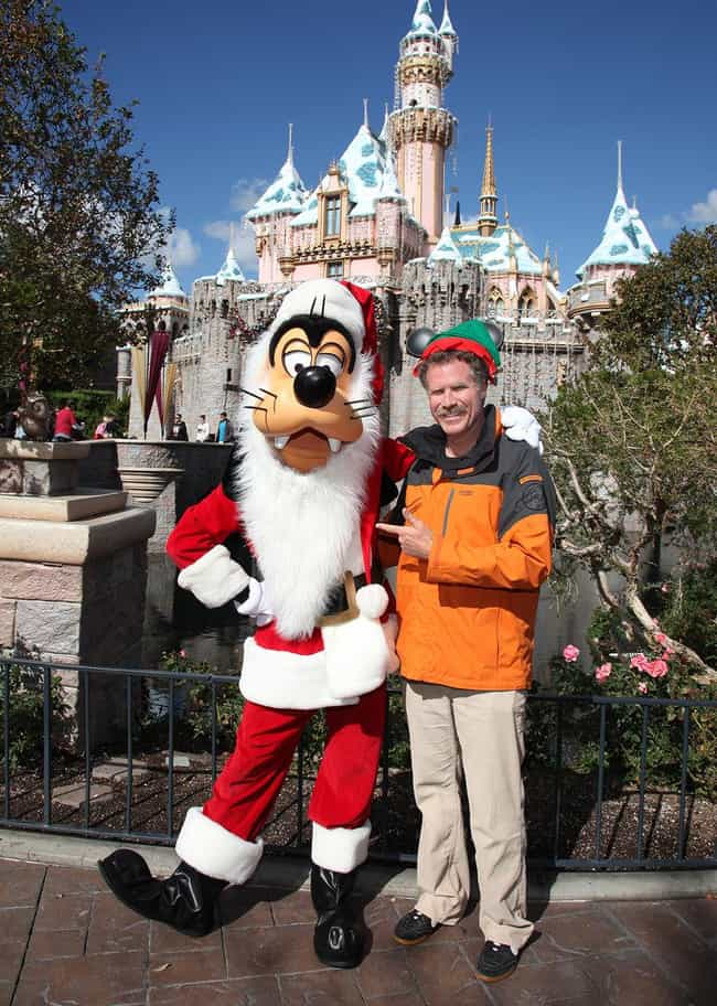 Will Ferrell is listed (or ranked) 3 on the list 55+ Celebrities Enjoying Themselves at Disneyland