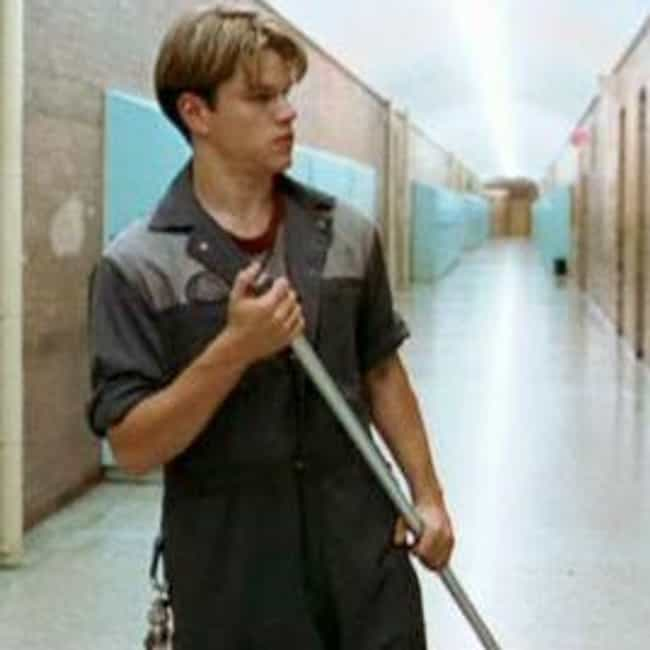 Will Hunting is listed (or ranked) 4 on the list The Best Fictional Janitors