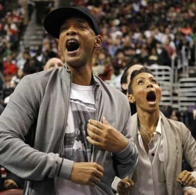 Will Smith is listed (or ranked) 1 on the list Celebrity 76er Fans
