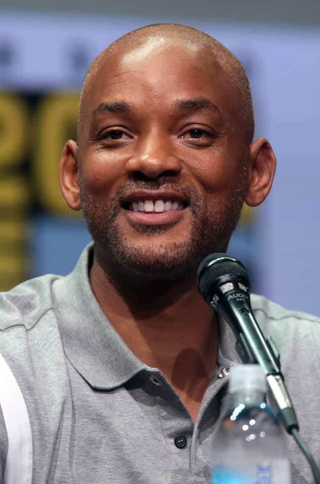 Will Smith is listed (or ranked) 3 on the list 20 Comedic Actors Who Have Been Nominated for Oscars