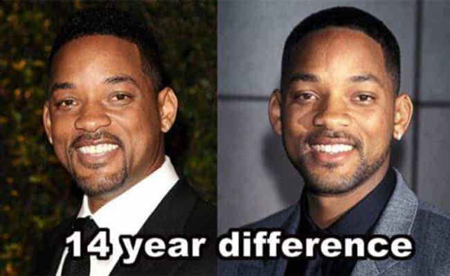 Will Smith is listed (or ranked) 2 on the list 20 Celebrities Who Never Seem to Age a Day