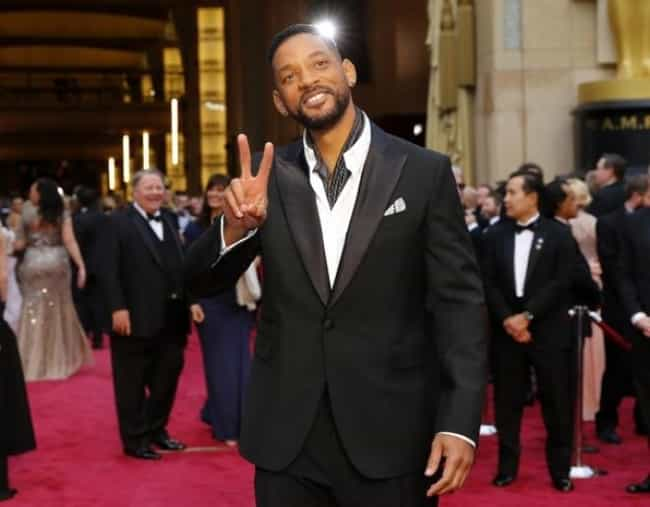 Will Smith is listed (or ranked) 3 on the list 33 Comedic Actors Who Have Been Nominated for Oscars