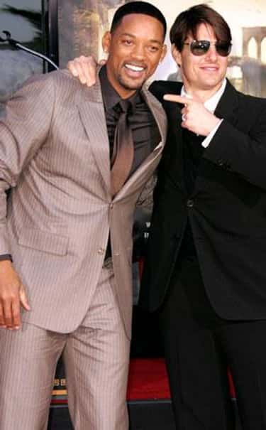 Will Smith is listed (or ranked) 2 on the list Famous Friends of Tom Cruise