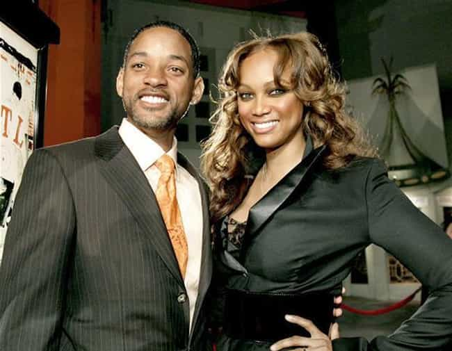 Will Smith is listed (or ranked) 4 on the list Famous Friends of Tyra Banks
