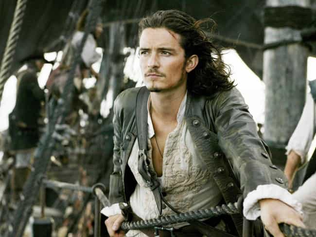 Will Turner is listed (or ranked) 3 on the list 15 Famous Roles Christian Bale ALMOST Played