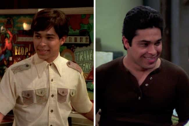 Wilmer Valderrama is listed (or ranked) 1 on the list How The Cast Of That '70s Show Aged From The First To Last Season