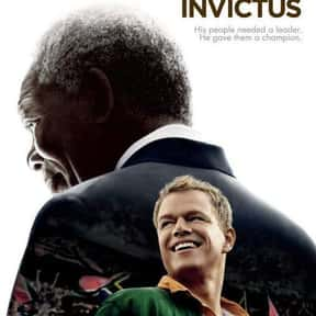 Invictus is listed (or ranked) 18 on the list The Best Morgan Freeman Movies