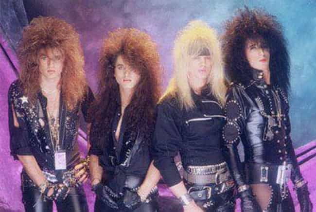 Winger is listed (or ranked) 4 on the list The Funniest '80s Glam Band Photos Ever