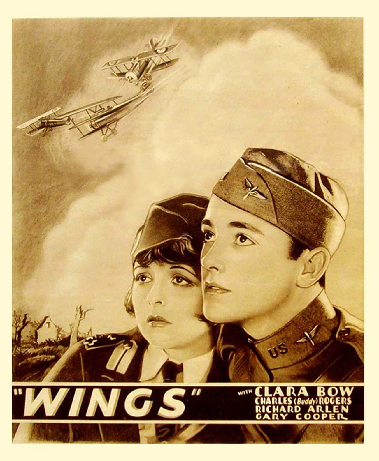 Wings is listed (or ranked) 4 on the list Movies and TV Shows Sponsored by the US Government