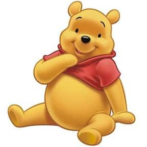 Winnie-the-Pooh is listed (or ranked) 8 on the list The Greatest Cartoon Characters in TV History